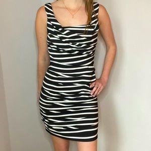 Flattering Express Striped Sleeveless Dress Size 4